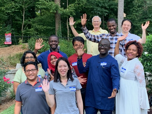 Galloway welcomes new cohort of Humphrey Fellows
