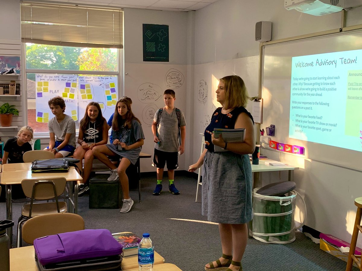 IN THE CLASSROOM: 5th, 6th Grades Introduce Responsive Classroom