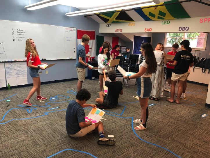 IN THE CLASSROOM: AP World History Simulates the Great Silk Road